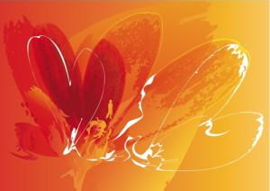 ansichtkaart ontworpen door Diana Vermetten