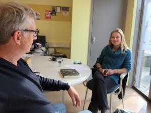 Simone Hanegraaf, RTV oost, interviewt Erik Pool, La Scuola