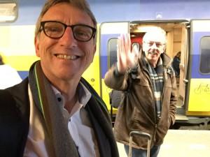Erik Pool, Gerard Oonk, La Scuola, trein