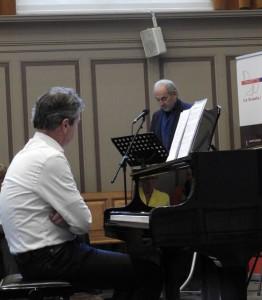 Gregor Bak en Job Cohen, Lenteconcert La Scuola